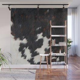 Cowhide Texture Wall Mural