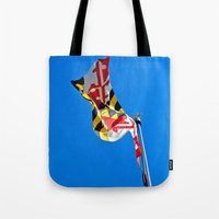 maryland Tote Bags featuring Maryland Pride by Kelsey Hunt
