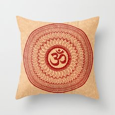 lialiom mandala Throw Pillow