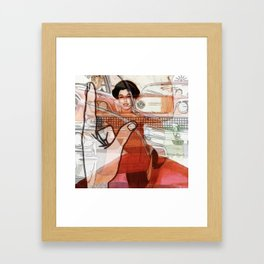 way to be Framed Art Print