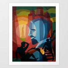 DuBois Art Print