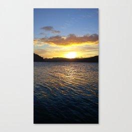 (#7) An Early River Sunrise Canvas Print