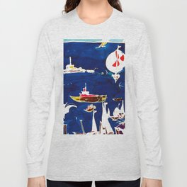 Southport Marina, AUSTRALIA                by Kay Lipton Long Sleeve T-shirt