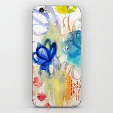 Fleurs Quilt iPhone & iPod Skin