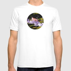 Grasshopper Insect MEDIUM White Mens Fitted Tee