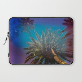 Blue Sky and Palm Trees Laptop Sleeve
