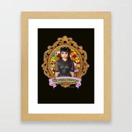 CONTROVERSY - NATALIA KILLS Framed Art Print