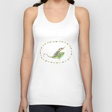The Horned Anole Unisex Tank Top