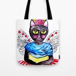 Cat-Kahlo Tote Bag
