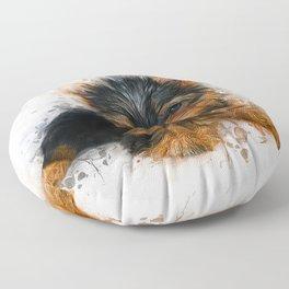 Yorkshire Terrier Puppy Floor Pillow