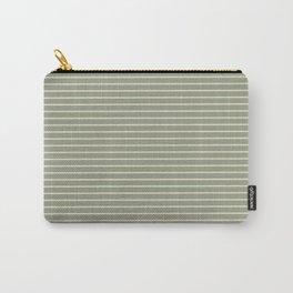 Seafoam Neutral Striped Palette Carry-All Pouch