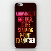 lettering iPhone & iPod Skins featuring Lettering 002 by Noem9 Studio