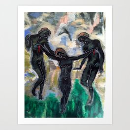 THE PULL by T'Mculus' Soul Art Print