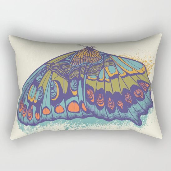 Butterfly Life Cycle Rectangular Pillow