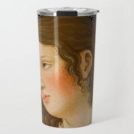 "Alessandro Botticelli ""Christ with Saint John the Baptist"" detail 1. Travel Mug"