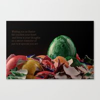 easter Canvas Prints featuring Easter by Karl-Heinz Lüpke