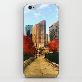 Boston: Follow Me into the Fall iPhone Skin