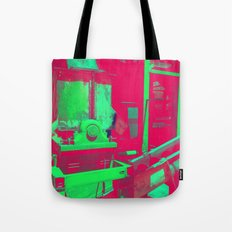 Factory Red Tote Bag