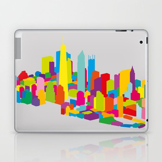 New WTC Isometric Laptop & iPad Skin