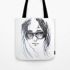 Sunglasses Girl Tote Bag
