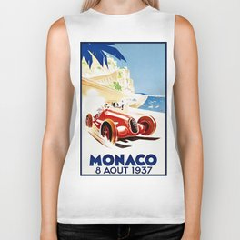 Monaco 1937 Grand Prix Biker Tank