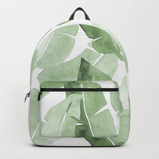 Tropical Leaves 2 Backpack