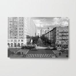 New York City, B&W. Metal Print