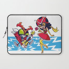 Electro-Acoustic Fire Laptop Sleeve