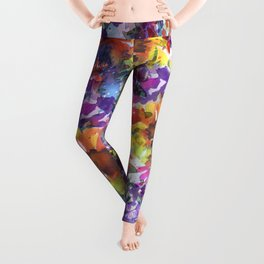 Rainy Day Sunflower Garden Leggings