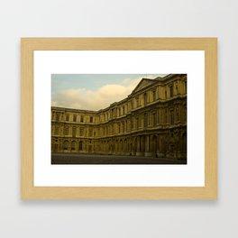 Palais du Louvre Framed Art Print
