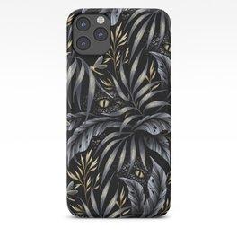 Jurassic Jungle - Grey Gold iPhone Case