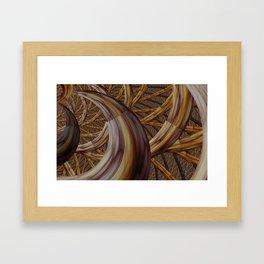 Harvest horn Framed Art Print