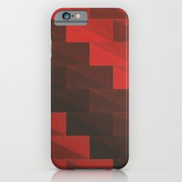 Red stairs iPhone Case