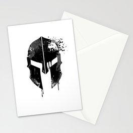 Spartan Helmet | Warrior Gift Idea Stationery Cards