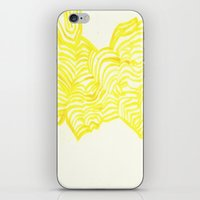 honeycomb iPhone & iPod Skins featuring Honeycomb by Mandi  Gilmore