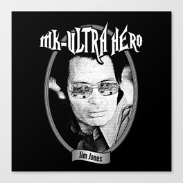 MK-Ultra Hero Canvas Print