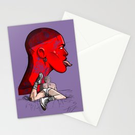 Demon Bed Stationery Cards