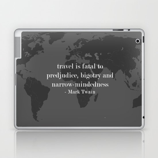 World Travel Laptop & iPad Skin