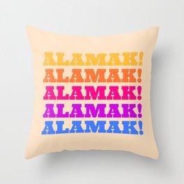 Alamak! Throw Pillow