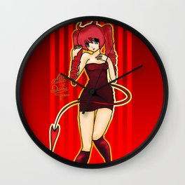 Lita Little Devil Wall Clock