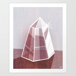 Little Quartz Art Print