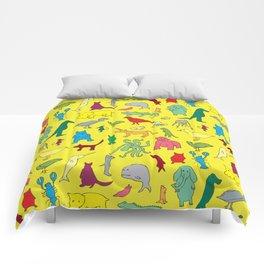 alphabet animals Comforters