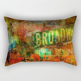 Slice of Broadway Rectangular Pillow
