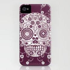 Sugar Skull iPhone (4, 4s) Slim Case