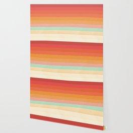 Rainbow Chevrons II Wallpaper