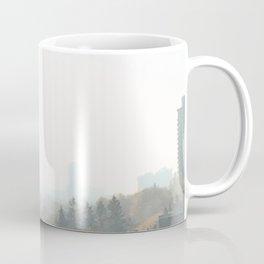 Foggy Skyline Coffee Mug