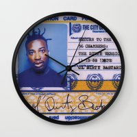dirty dancing Wall Clocks featuring DIRTY by NIGHTJUNKIE