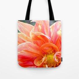 Flower Flames Tote Bag