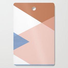Geometrics - moroccan sky Cutting Board