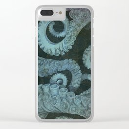 Octopus 2 Clear iPhone Case